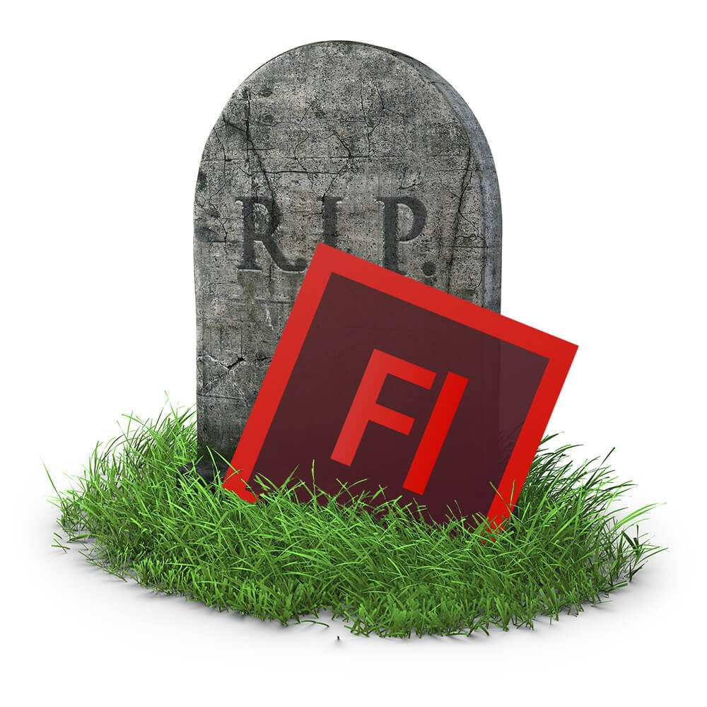 el final del adobe flash