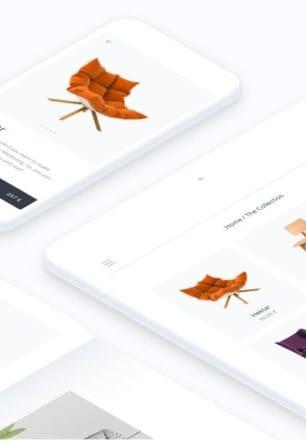 página web catálogo online